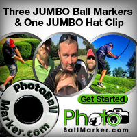 Jumbo Ball Marker Set of Three Jumbo Ball Markers