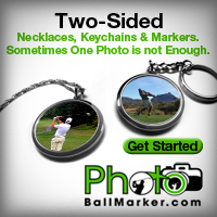 Two Sided Pocket Golf Ball Markers