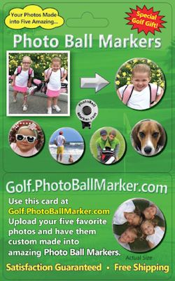 Photo Ball Marker Product Gift Card